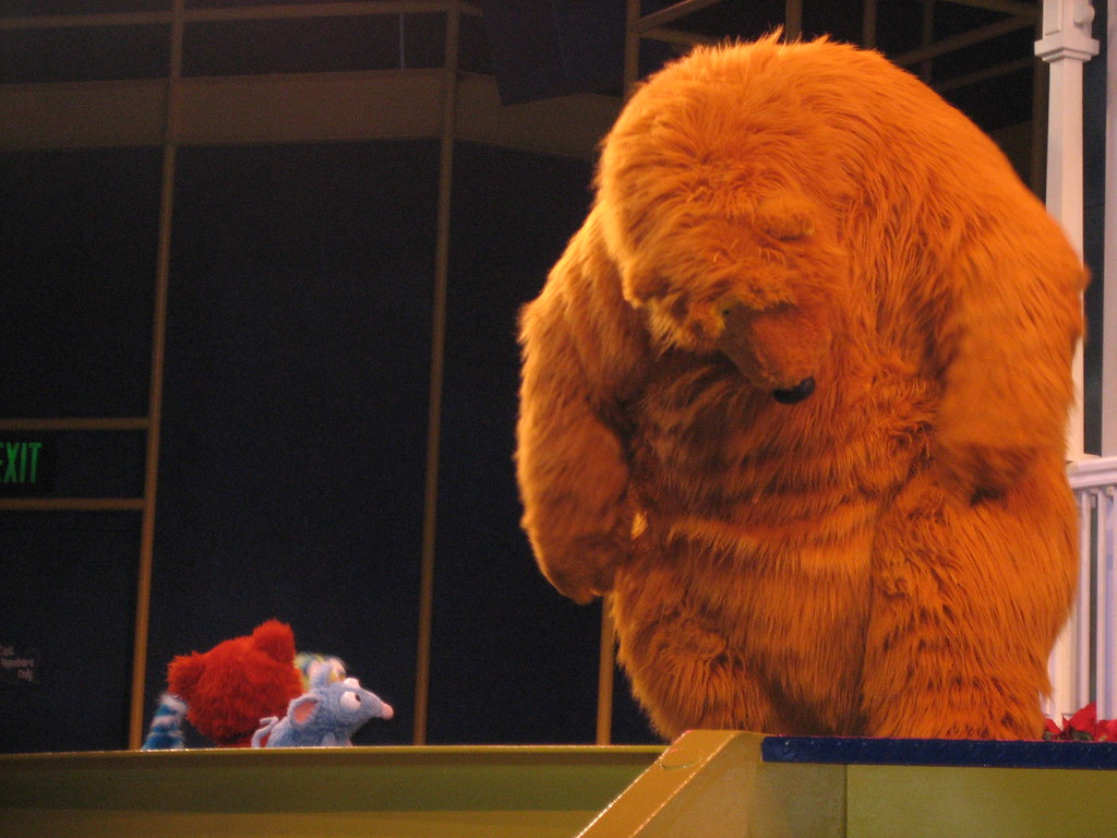 bear in the big blue house ying 88 flickr