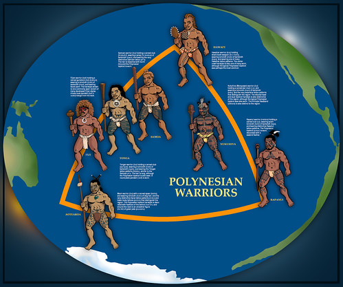 Toa Poster Toa Is A Polynesian Word Meaning Warrior