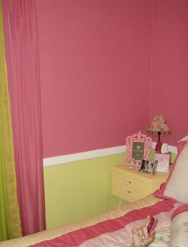 Hot Pink Lime Green Walls Gotta Love That Hot Pink And