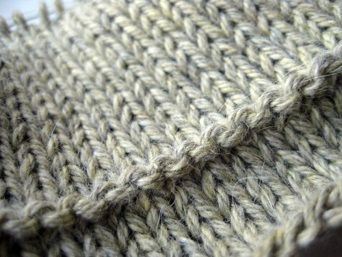 Turning row (round) | by Twisted Knitter