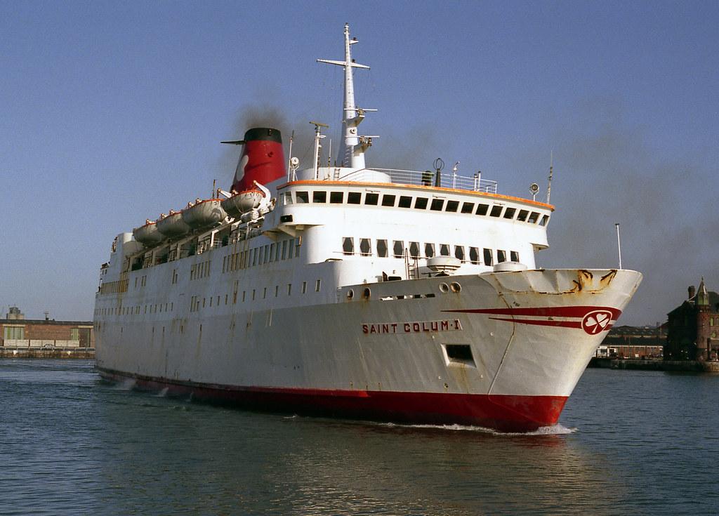 r31 neg 25 jan 84 belfast car ferries quotsaint colum1quot flickr
