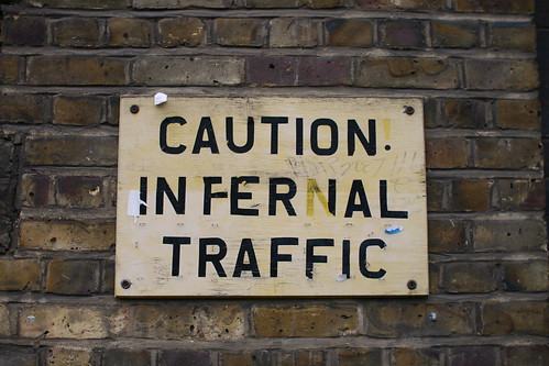 Caution Infernal Traffic | by Jonas B