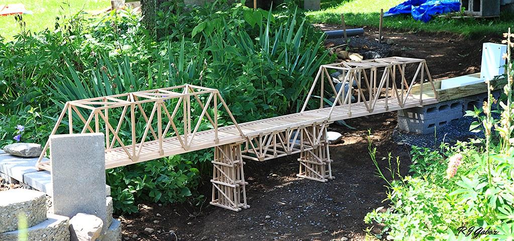 Garden railroad bridges   Rob Gabor   Flickr
