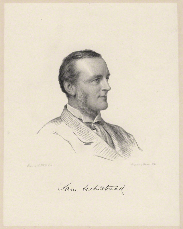 NPG D9981; Samuel Whitbread