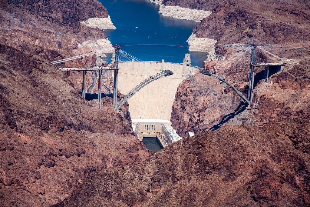 The Hoover Dam  From Our Grand Canyon Helicopter Tour  Mike  Flickr