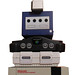 Stacks of Nintendo Consoles
