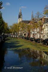 Travel Photography, Canal in Delft | by WB - CMH