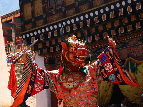Dance of the Lord of Death (Paro, Bhutan) | by jmhullot