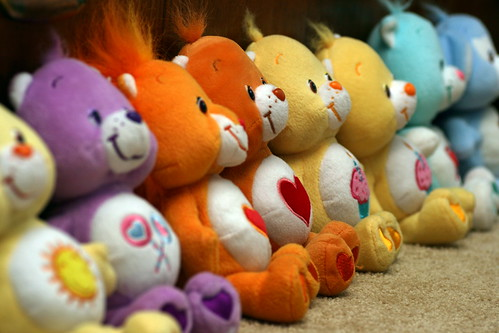 Care Bears line up | by johntrainor