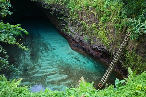 "The ""Toe Sua Ocean Trench"" 