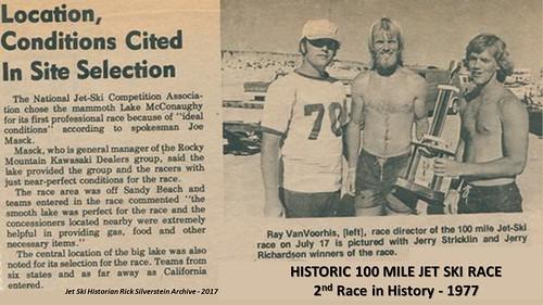 1ST Endurance Jet Ski Race 1977