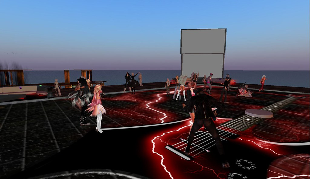 sanctuary rock party in second life saturday night is for flickr. Black Bedroom Furniture Sets. Home Design Ideas