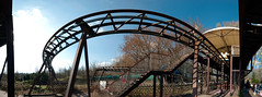 Spreepark: Rollercoaster Panorama