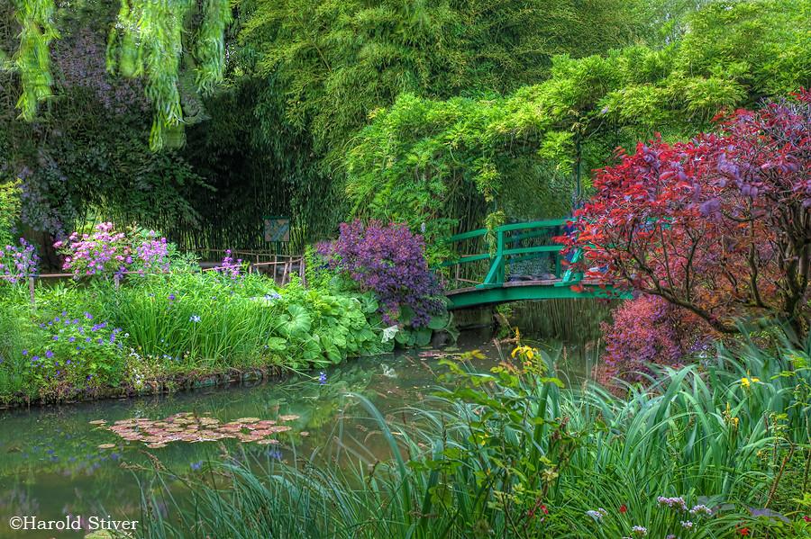 Monetu0027s Garden | By Harold Stiver Monetu0027s Garden | By Harold Stiver