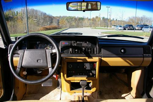 volvo 240 DL steering wheel 1988 | hinterland_1 | Flickr