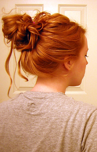 Messy Bun When I Was Younger Hair Had To Be Smooth And