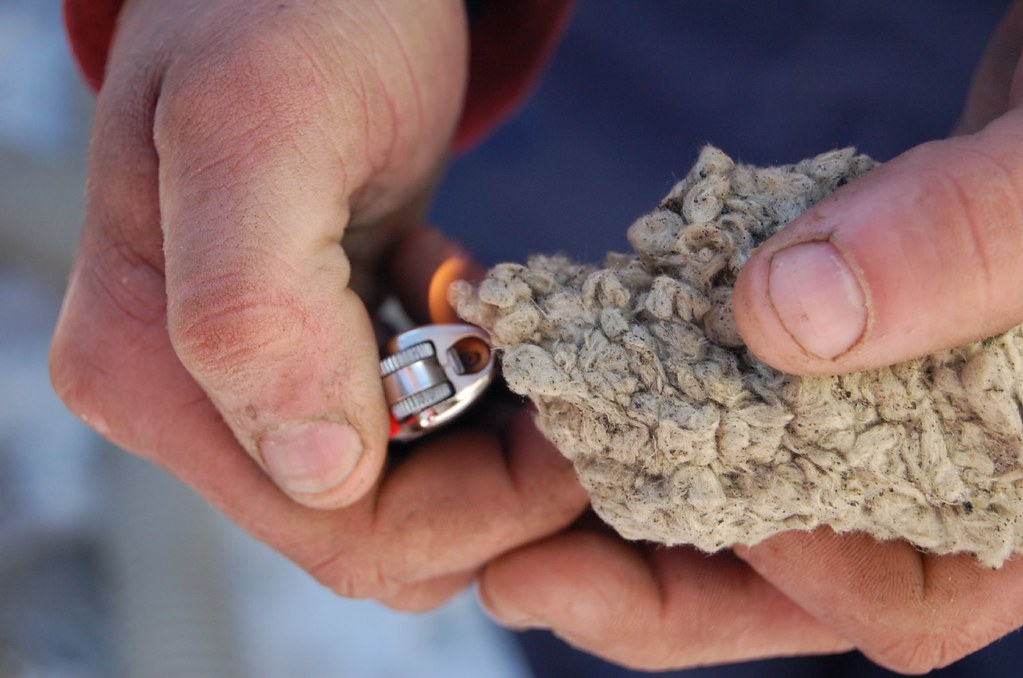 Fire Resistant Insulation : Fire resistance the insulation guy demonstrates how