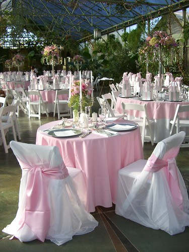 Blush Pink Bridal Table For Two Lisa Runolfson Flickr
