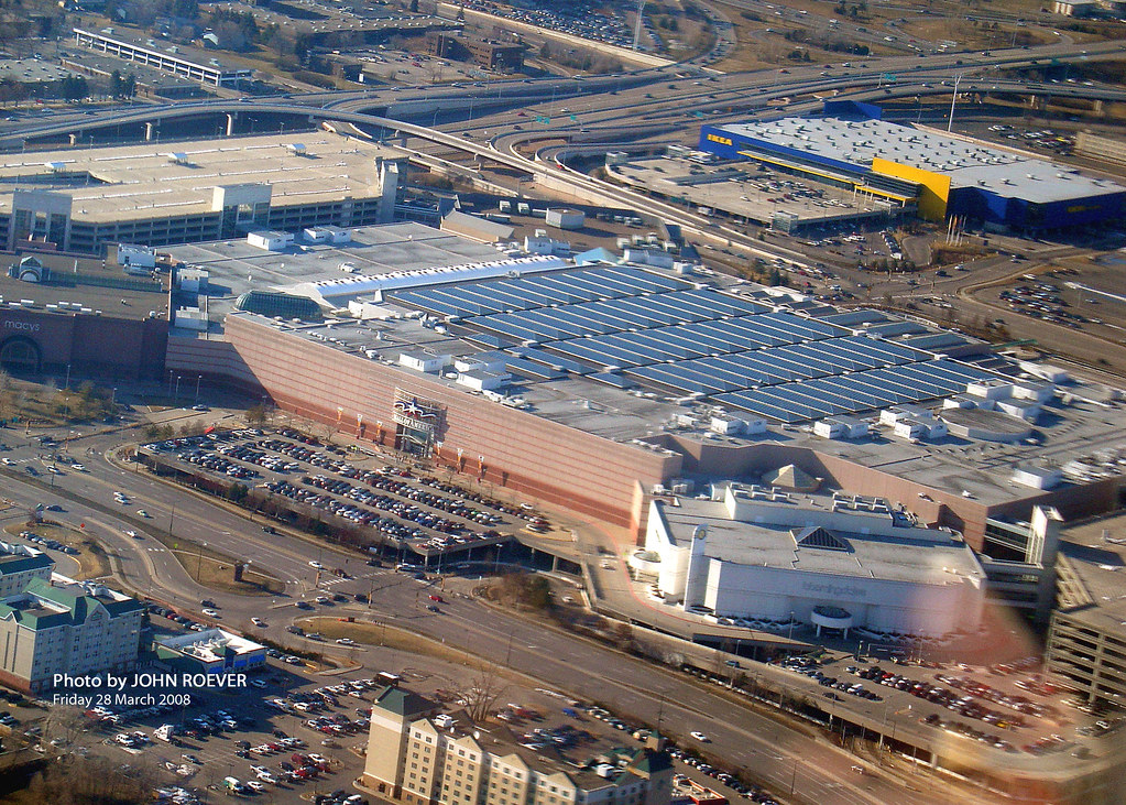 mall of america and ikea 28 march 2008 view of mall of