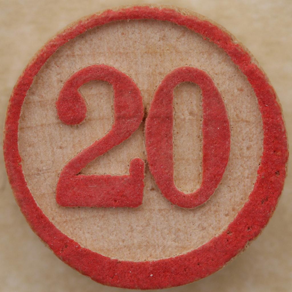 ... Bingo Number 20 | by Leo Reynolds
