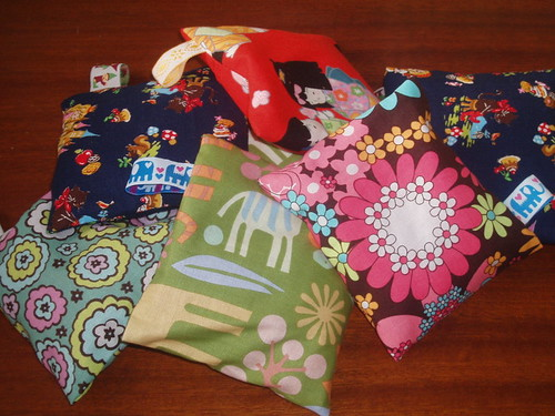 bean bags | by Crafty Doula