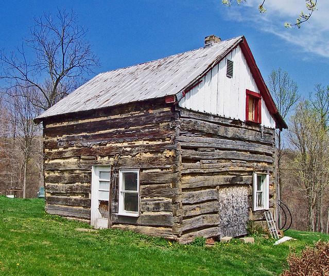 1800 S Log Home Three Room Log Cabin Originally Built