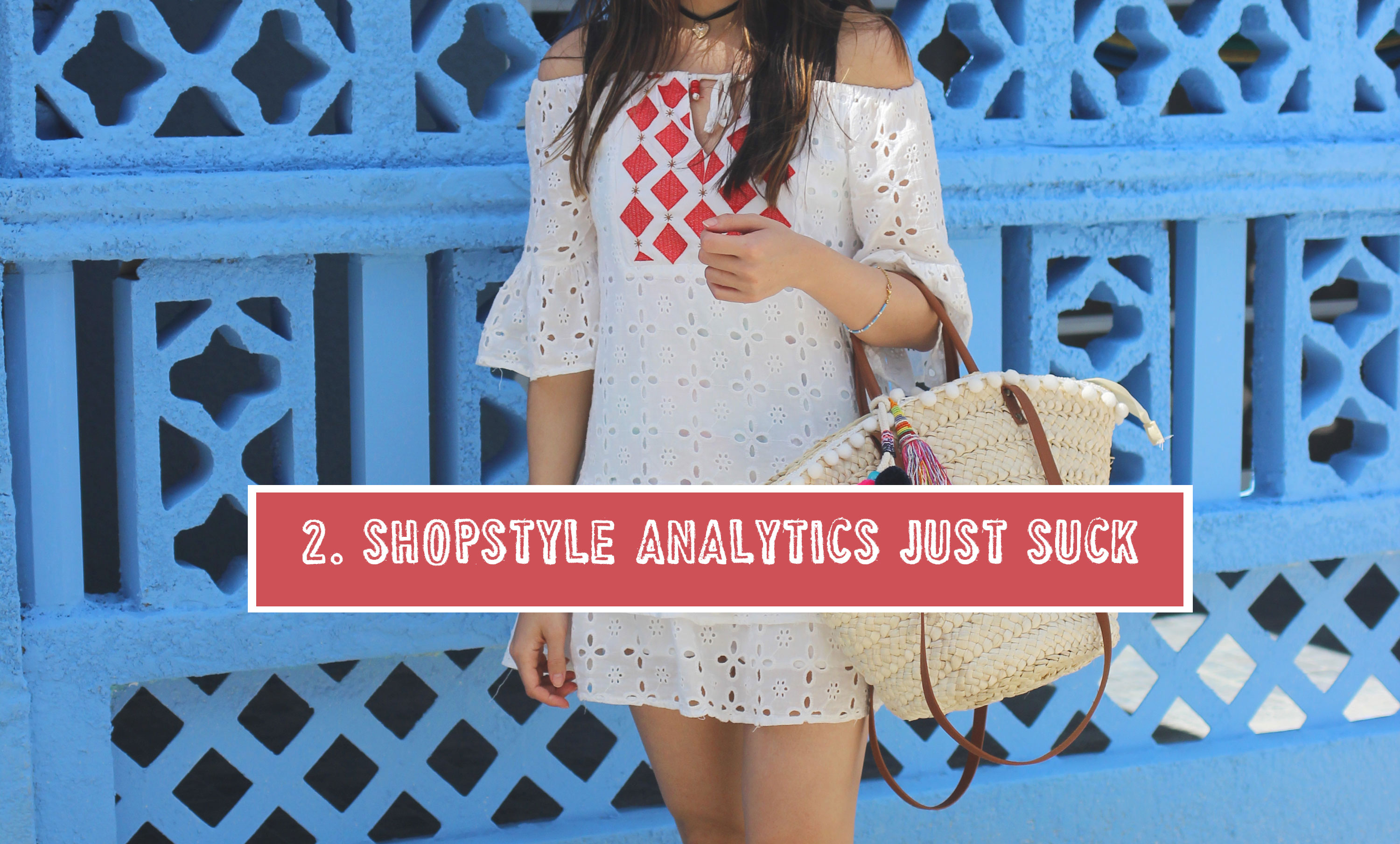 Shopstyle analytics are terrible compared to Rewardstyle's affiliate links