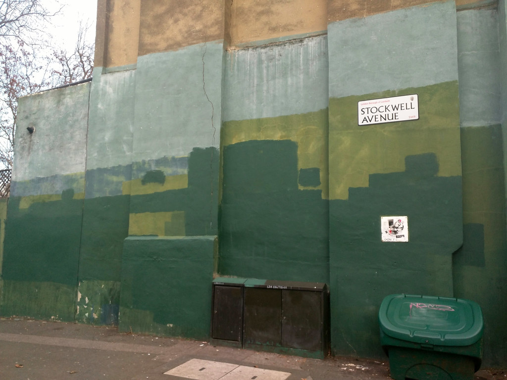 'Other people's graffiti' - Stockwell Avenue