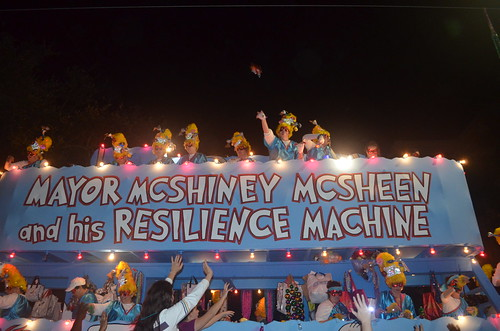 Mayor McShiney McSheen and his Resilience Machine | by skooksie