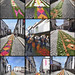 Decorated Streets of Ponta Delgada for the Pilgrimage to Fatima