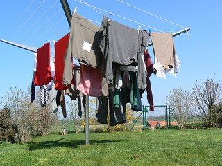 Laundry drying | by ClearFrost