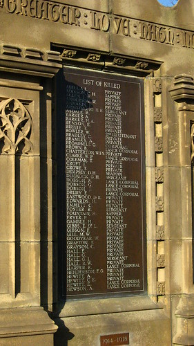 List of killed 1914-1918 A-H | by R/DV/RS