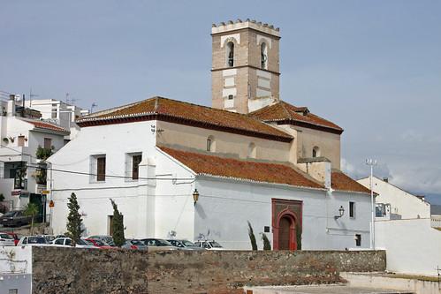 Salobreña parish church Nuestra Señora del Rosario