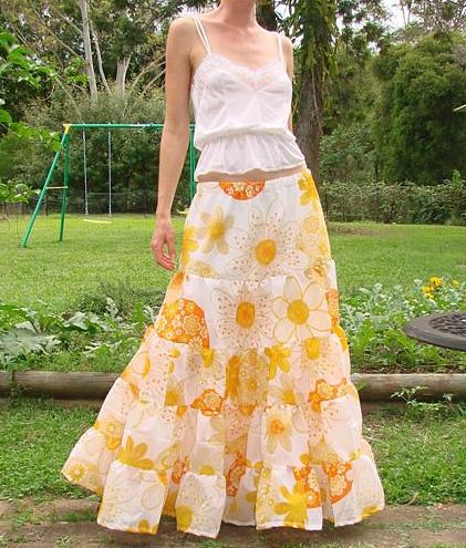 Tiered Maxi Skirt — Crafthubs