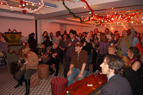 Scholastic holiday party, NYC, 12/18/07 - 1 of 2 | by goodrob13