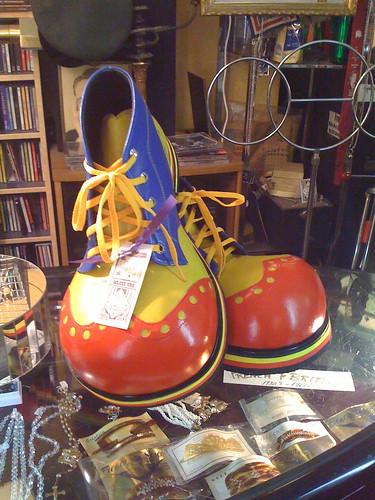 Clown Shoes White