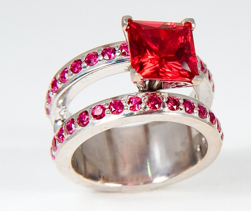 5-carat Ruby Engagement/Wedding Ring | by 3BL Media