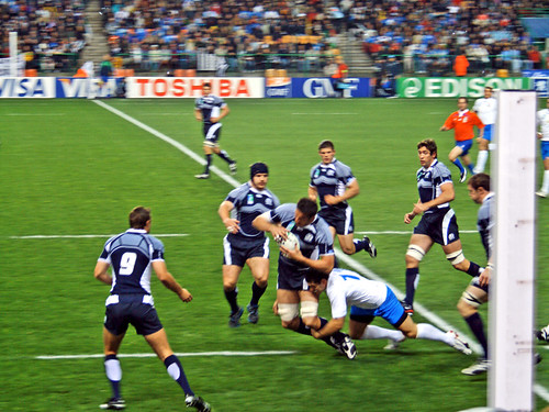 italy scotland rwc 207 st etienne a moment of the match flickr. Black Bedroom Furniture Sets. Home Design Ideas