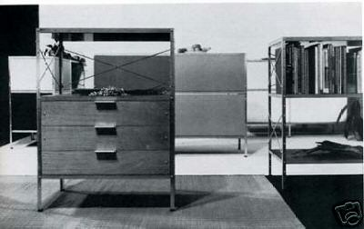 Charles eames storage unit 1950 from neue meubel annuals b flickr - Eames meubels ...