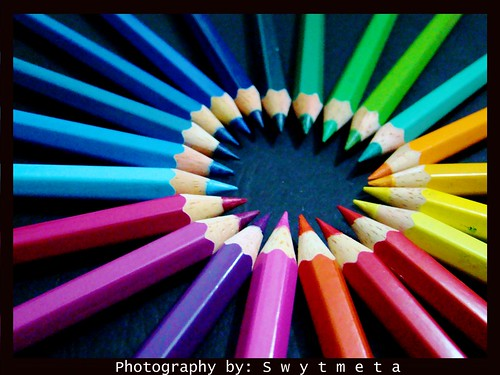 pattern - color pencils | by Sharuwary a.k.a Swytmeta