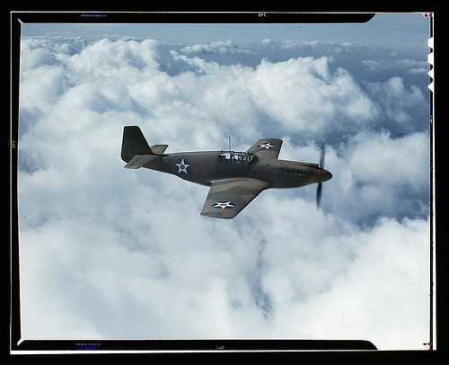 North American's P-51 Mustang Fighter is in service with Britain's Royal Air Force, N[orth] A[merican] Aviation, Inc., Inglewood, Calif.  (LOC) | by The Library of Congress