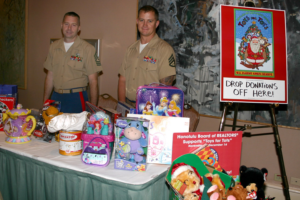 Marine Toys 4 Tots Foundation : Marine foundation s toys for tots hicentral flickr