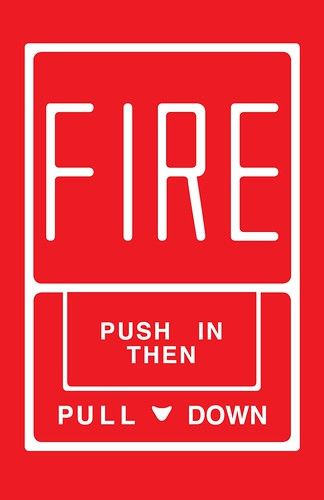 Back Up Alarm >> FIRE (Push in then pull down) | I really dig the graphic ...
