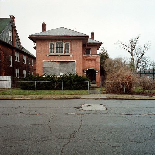 Abandoned House In Brush Park Detroit Michigan Part Of