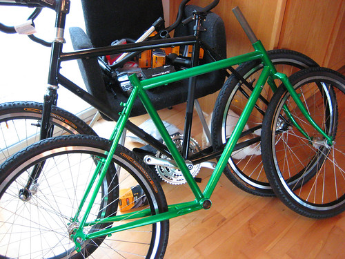 Tara's Green Bike! | by goingslowly