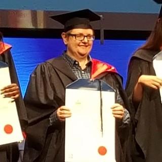 A proud Graduate!