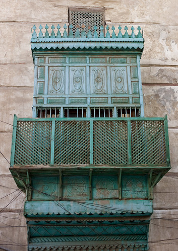Old ottoman houses in Jeddah - Saudi Arabia | by Eric Lafforgue