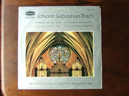 Carl Weinrich - Bach: Organ Recital