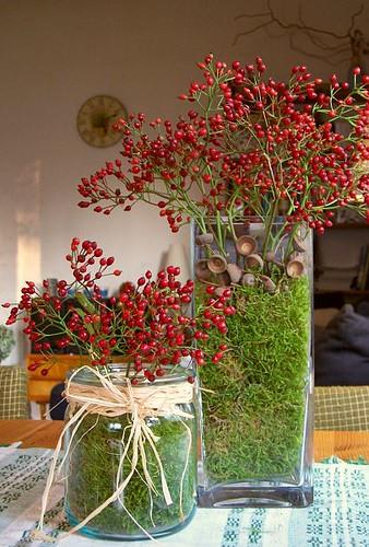 Autumn decor from my garden i love the autumn colours for Moderne pflanzen innen