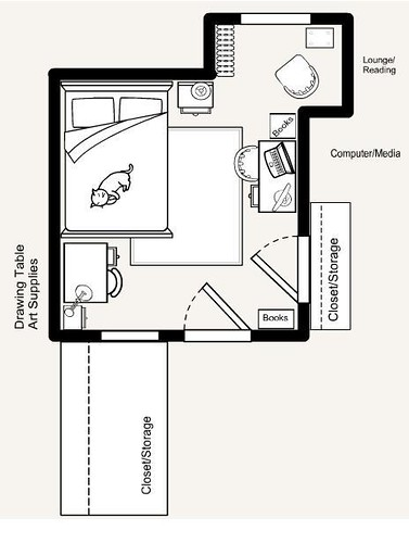 Bedroom Layout This Is A Quick Layout Of My Bedroom Work S Flickr